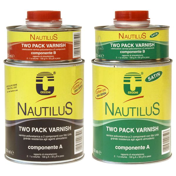 Nautilus Two Pack Varnish